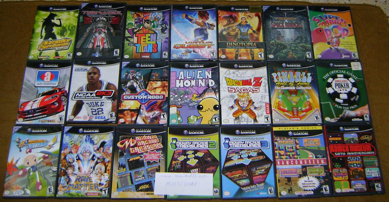juego de nintendo gamecube: