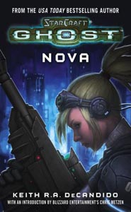 Portada Starcraft Ghost NOVA